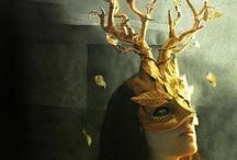 costume / fantastical adornments, makeup, masks, headdresses, ethno-tribal, folklore, etc. / by Kathleen Paris