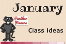 January Class Ideas