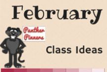 February Class Ideas