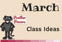 March Class Ideas