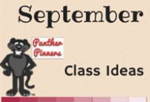 September Class Ideas