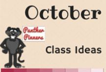 October Class Ideas