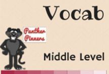 Vocab Middle Level