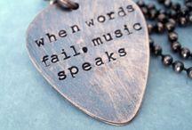 Music / When words fail music speaks