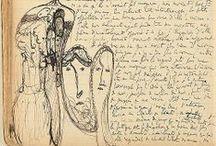 Dibujitos proustianos / Dibujos de Marcel Proust