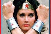 Lynda Carter: Wonder Woman and Beyond / My first crush, and let's face it still gorgeous today