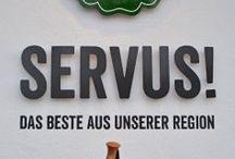 Servus!  / Unser Informationscenter direkt an der A8 - das Servus! in Irschenberg.