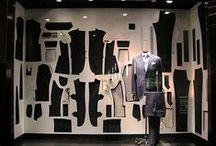 Clothing Window Display Inspiration / Great clothing Window Display  Inspiration from all over the world