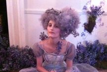 """Rococo / Marie Antoinette / """"No one really does know how to have fun here at all. It is all etiquette."""" - Kathryn Lasky"""