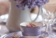Tea party / `it's always tea-time, and we've no time to wash the things between whiles.' - Mad Hatter