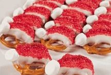 Christmas Food and Cooking / Recipes for a Christmas party, the dinner table, or Christmas Day snacks!