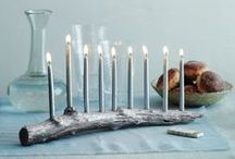 Hanukkah - חנוכה / Hanukkah Sameach! All about the Festival of Lights and decorations in blue and white!