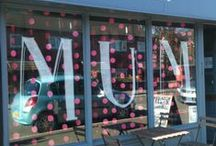 Mother's Day Window Display Ispiration