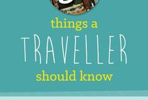Travel hacks / Helpful tips on traveling in a smarter way.