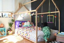 Kids Place / Beautiful inspirations for kids rooms *** cool *** romantic *** colourful *** minimalistic *** heroic *** crazy