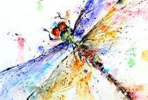 Dragonflies / If you'd like to be invited to pin on my Dragonflies board, just follow me and send me a message @insanecharm. :-)  Pin anything with dragonflies, or about dragonflies! <3