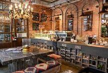 la salle à manger - bars - wine bars - clubs / restaurant - design - pubs - bars - clubs