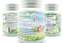 Spring Vitality Probiotics Supplement / Concept of Spring's Spring Vitality Probiotics Supplement is aimed to improve your overall health especially to improve your digestion and immune system.