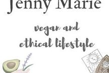 Jenny Marie: Vegan Lifestyle Blog / A UK-based vegan lifestyle blog: pro-intersectional, fat positive, feminist, anti-oppression. Feat. mental health, relationships, beer, donuts, make-up, embroidery, dog, invisible illness, all sorts.