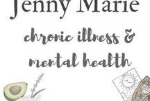 Chronic Illness + Mental Health / Chronic Illness | Mental Health | Chronic Fatigue | Natural Remedies | Natural Healing