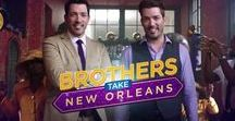 """Brothers Take New Orleans / Jonathan and I hit The Big Easy in our latest special """"Brothers Take New Orleans"""" premiering Nov. 23rd on HGTV. Get a BTS sneak peek here!"""