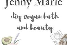 DIY vegan bath & beauty