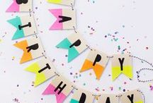 Celebrate: Party Ideas / Creative birthday party inspiration, craft project ideas, recipes, printables, and more! Lots of fun party themes, tips, and tricks for the best party EVER!
