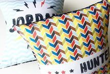 Cushions / I love cushions when I am illustrating them, personalising or falling in love with someone else's.