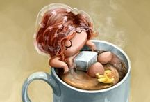 Coffee! Java! Mocha! / All things coffee!  / by Ericka Felker