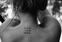 Tattoos  / by Alyssa Marie Mazzie