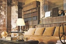 ⊱◦ lavish libraries ◦⊰ / lavish ᏝᏐᏴℛᎪℜᎨℰᏕ, BOOKCASES, BIBLIOTHEQUES, ....An avid reader can spend hours in a room full of books!!  These lavish libraries speak volumes, ... they are worthy of one's whiling away countless hours, engrossed among the classics!! / by Donna Rossi, Interior Designer
