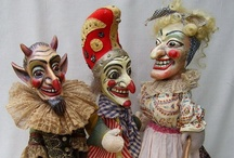 funny ƑÅ℃€Տ  ꉻʅꉻ / FOLK ART, PAINTED and CRAFTED FACES, ...funny, endearing, strange, ......quirky, silly, wacky, .....full of character or devoid of charm, .....some wonderful and others creepy, .....but all are FABULOUS!!