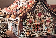ᏩḯՌɠểℾՅℜᏋᎯᗬ gems / GINGERBREAD HOUSES, ...... and other edible creations made from gingerbread.