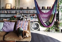 ⊱◦ eclectic  styles ◦⊰ / ⨊ᏟじҾℂ㆘ḮᏨ styles: OFFBEAT, BOHEMIAN design styles, ....various design styles combined to create a vibrant, bold, and visually stimulating living space. / by Donna Rossi, Interior Designer