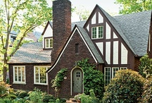 Dream Home: Cool Architecture / If I can't have a castle (WAAAAAAH!), can I please have an adorable little Tudor cottage?  That's probably closer to our sq ft requirement and budget anyways.  And it looks like it should be filled with books and swords and cats sunning themselves everywhere, which is the story of my life.