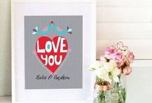 Valentine / Valentines day is loving those closest to you & showing them is the most personal & creative ways.