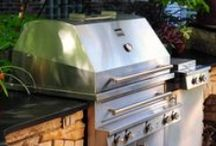 Grills, Smokers and Pizza Ovens / { get ready to heat up your summer with one of our grills or smokers }