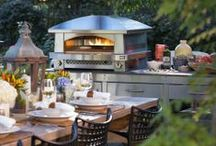 Outdoor Living / { whether you dream of an outdoor kitchen or an outdoor movie theater, we've got the inspiration and the products to make that a reality... }