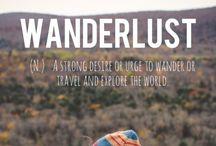 Wanderlust / by Genia