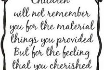 ❤ Favorite Quotes / A few favorite quotes on parenting and kids from the moms & dads at customkidsfurniture.com