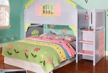 ❤ Princess Beds / See more of our girl bunk beds & twin beds for kids at https://www.customkidsfurniture.com/collections/twin-beds-for-kids