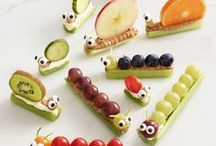 ❤ Recipies for Kids / At www.customkidsfurniture.com we're always looking for fun, healthy food our kids will actually eat :)