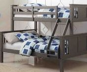 ❤ Boys Bedroom Ideas / Visit our website to see more great loft beds and bunkbeds for boys rooms at https://www.customkidsfurniture.com/collections/loft-beds-for-kids