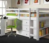 ❤ Organization / Organization ideas for kids rooms and your whole house.  See our collection of loft beds and bunk beds designed to help organize your child's room at https://www.customkidsfurniture.com/collections/kids-loft-bed-with-desk