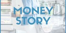 Money Story / All things related to money and breaking blocks, mantras and the law of attraction.