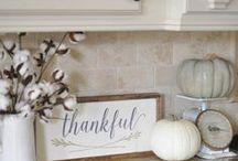 ❤ Fall Decorations / Fun Fall, Halloween & Thanksgiving Decorations from CustomKidsFurniture.com.
