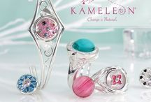 Jewelry - Yes, Jewelry at the Audio/Video Store / We carry Kameleon Jewelry in our store, neat interchangeable sterling silver pieces, with Jewelpops that you can pop in to change it's look.