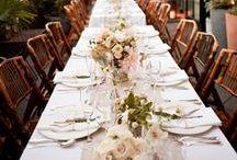 WEDDING FLOWERS: TABLE