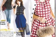 Japanese fashion magazines featuring Franco Bassi and Francesca Bassi / fashion in Japan