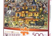 Seasonal Jigsaw Puzzles - Halloween / Halloween is coming up! And while not all of these puzzles are Halloween-themed, they're definitely all great autumn scenes!